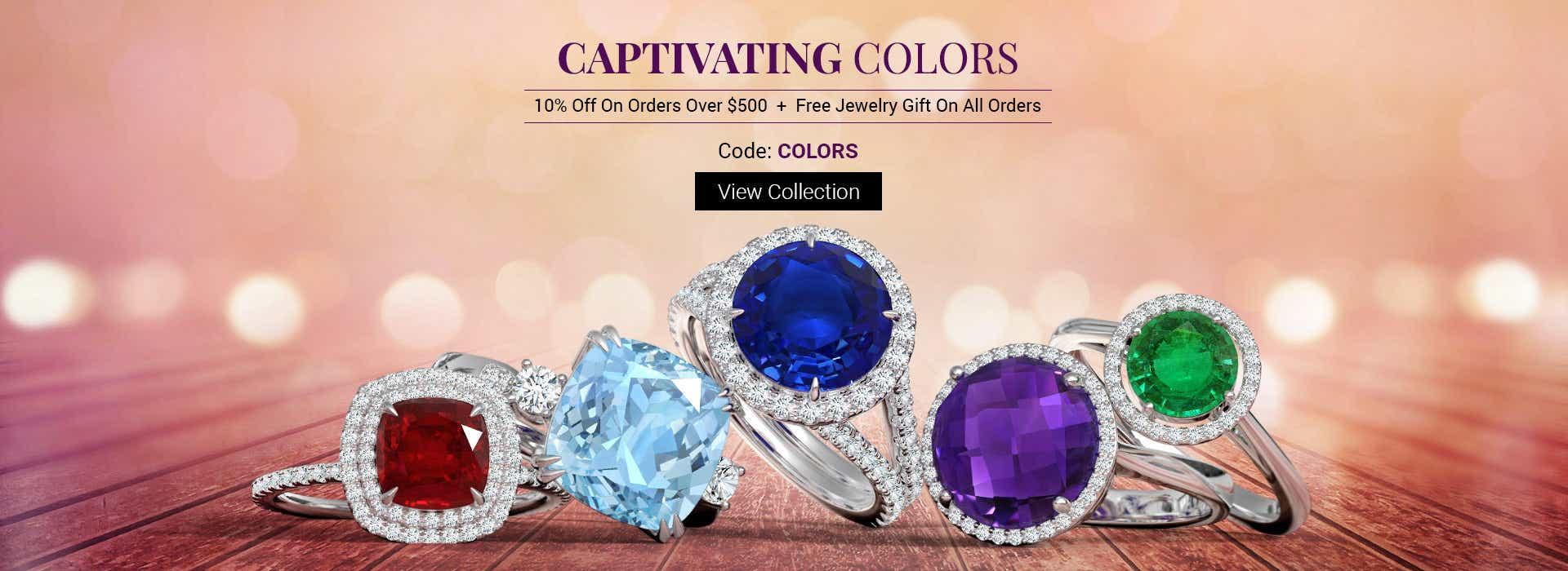 Explore Gemstone Jewelry