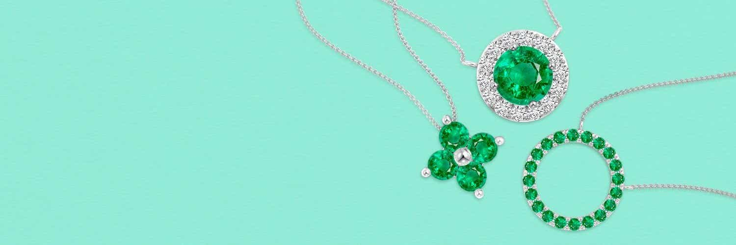 Birthstone Pendant Necklaces