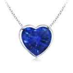 September Birthstone Pendant Necklaces