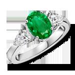 May Birthstone Rings
