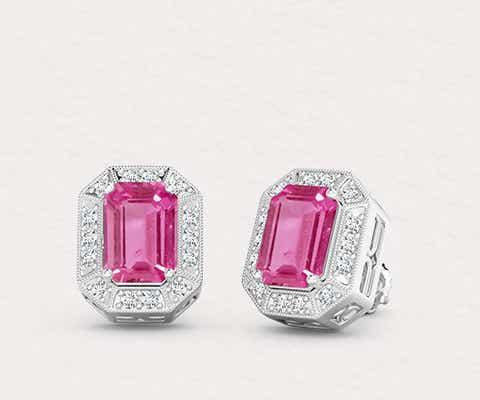 View Pink Tourmaline Jewelry