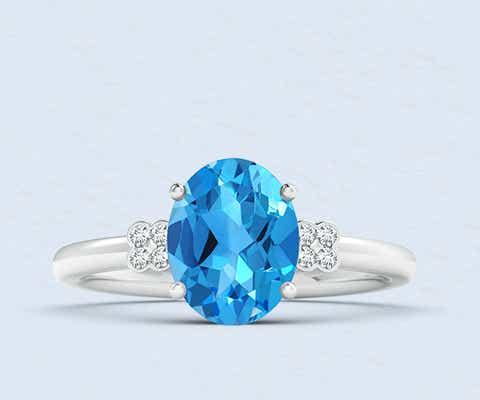 View Swiss Blue Topaz Jewelry