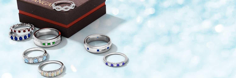 Unique Wedding Rings, Couple Wedding Rings | Angara