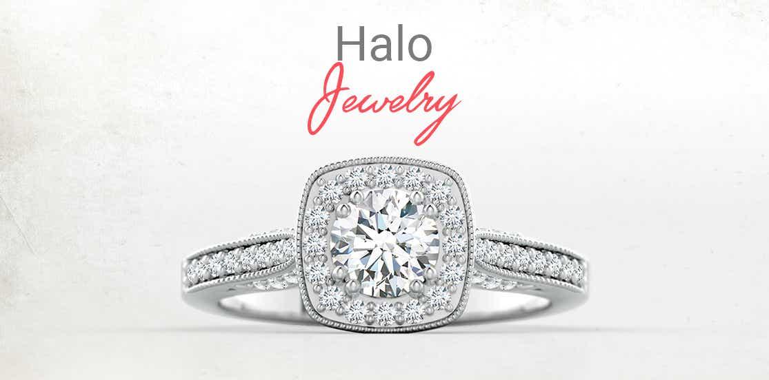 Halo Diamond Jewelry