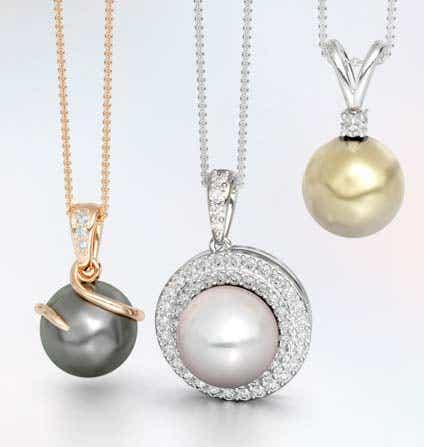 Pearl Pendant Necklaces