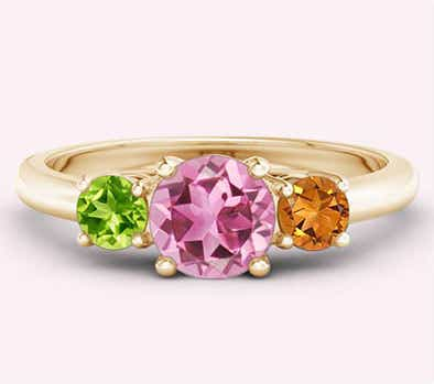 Explore Mother's Birthstone Rings