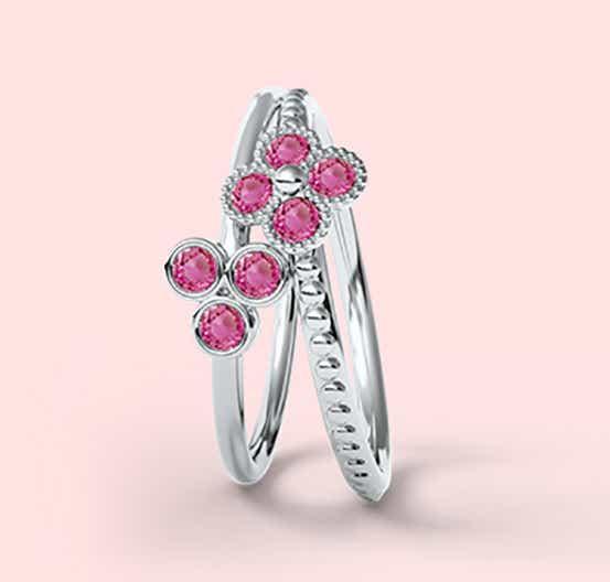 Pink Tourmaline as Vivid Pink