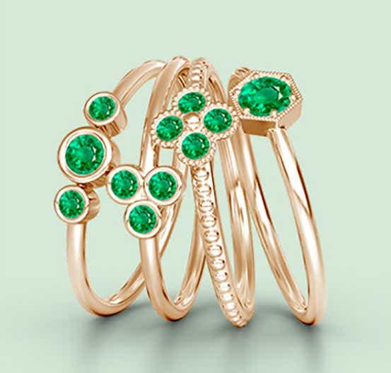 Emerald as Lush Green
