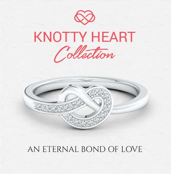 Knotty Heart Jewelry From Angara