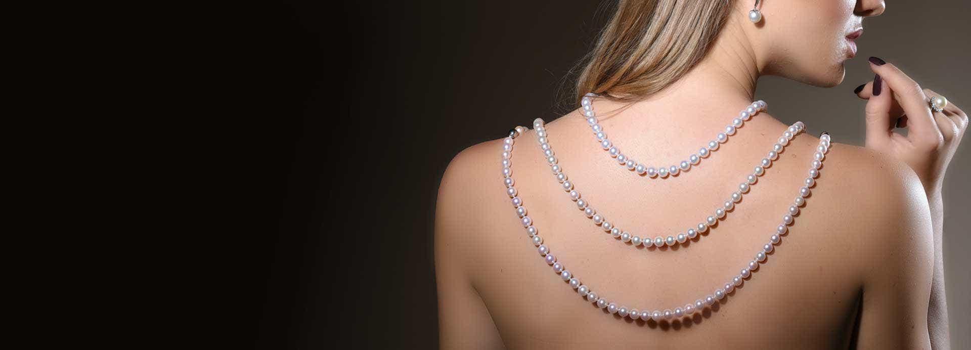 Angara Pearl Pendants & Necklaces