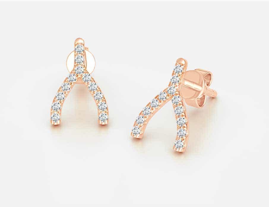 Lucky Wishbone Jewelry